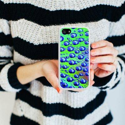 Apple iPhone 6 Housse Étui Silicone Coque Protection Gouttes Lumière Eau Housse en silicone blanc