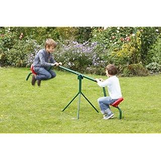 Unbekannt Mottez Wippe Tourny für Kinder, Grün, 50 kg