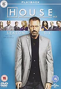 House Season 6 Dvd Amazon Co Uk Hugh Laurie Lisa