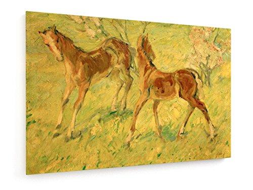franz-marc-los-potros-en-una-pastura-pintura-de-1909-90x60-cm-weewado-impresiones-sobre-lienzo-muro-