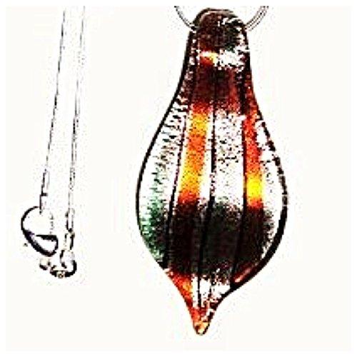 GRAZIOSA collana in vetro Murano / ciondolo in argento 925 16