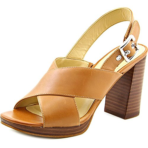 Marc Fisher Faithe Damen Leder Sandale Medium Brown