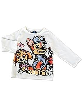 Mädchen Paw Patrol Shirt, schneeweiß