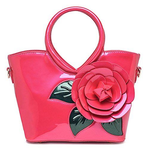Flada, Borsa tote donna rosa Pink medium Rosy