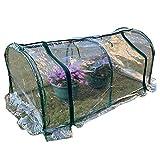 HAIPENG-gewächshaus Treibhaus Foliengewächshaus Tomatenhaus Garten Pflanze Wachsend Gemüse Kunststoff PVC Abdeckung Fenster Vent (Farbe : Klar, größe : 120x60x50cm)