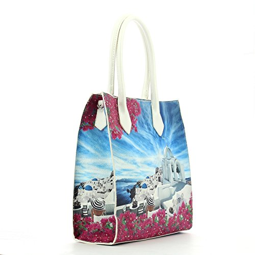 YNOT? J-375 Shopping Bag Donna sidney date UNICA WHITE PARTY