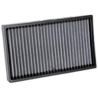 K&N Premium Cabin Air Filter: High Performance, Washable, Lasts for the Life of your Vehicle: Designed for Select 2014-2018 MASERATI (Ghibli, Levante, Quattroporte), VF2067