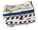 Wiederverwendbare Baby Tuch Wipes 5 'x 7' Zoll- 100% Baumwolle Flanell Tuch-2 Schichten-ultra weich - sortierte Farbdrucke