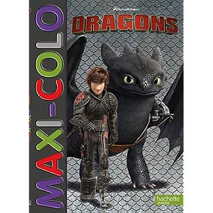 Dreamworks - Dragons-Maxi colo