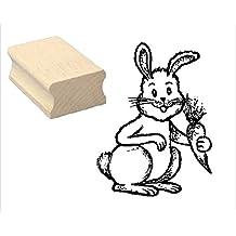 Stempel « Hase Wildhase » Adressenstempel Motivstempel Holzstempel