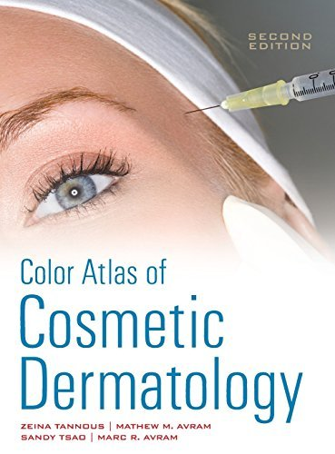 Color Atlas of Cosmetic Dermatology, Second Edition by Zeina Tannous (2011-06-01)