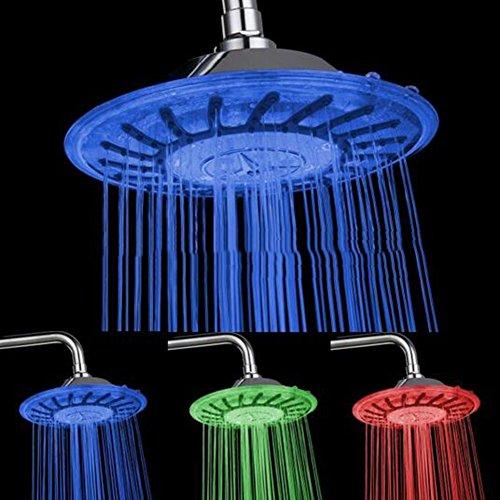 Preisvergleich Produktbild Duschen Wasserhahn Top Dusche LED Duschkopf Badezimmer Wasser Top Spray Dusche Spray