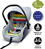 R for Rabbit Picaboo - Infant Car Seat cum Carry Cot (Rainbow)