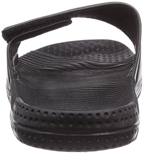 Romika Romilette N Klett Unisex-Erwachsene Pantoffeln Schwarz (schwarz 100)