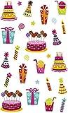 Maildor 560516C Packung mit Stickers Cooky 3D (1 Bogen, 7,5 x 12 cm, ideal zum Dekorieren, Sammeln oder Verschenken, Geburtstag) 1 Pack