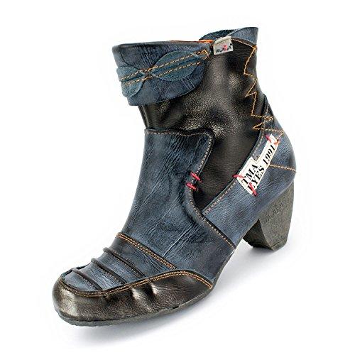 TMA Damen Stiefeletten, Anthrazit - 39 (Besten Boots Ankle Am)