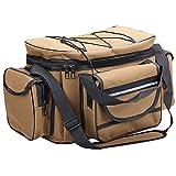 Karpfen Grobe Angelausrüstung Tasche Reisetasche Isolierte Reisetasche - 2 Farben,Khaki