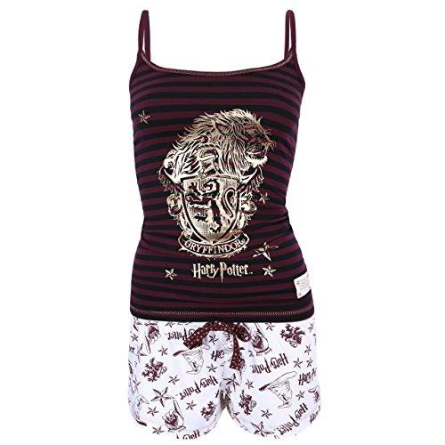 El pijama de dos piezas con rayas HARRY POTTER - X-Large
