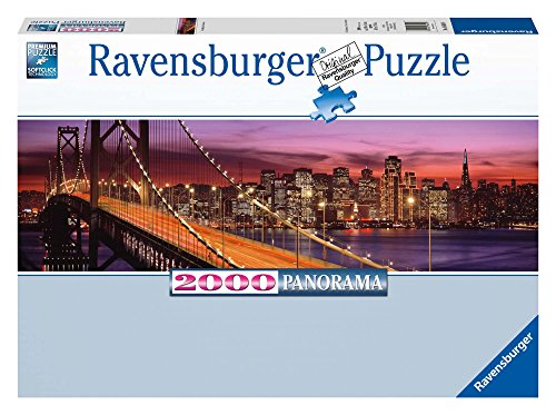 Bay Bridge San Francisco Panorama Jigsaw Puzzle, 2000-Piece