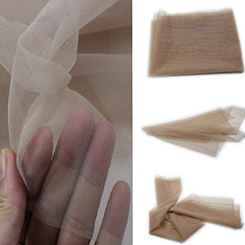 Eseewigs Color transparente Encaje para hacer o ventilación Gorra de peluca de encaje Frente de encaje o encaje completo Tejeduría(1Yard)