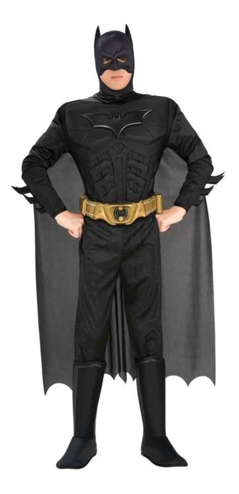 Batman Kostüm Superheld DC Comic Held Schwarzer Ritter für Herren