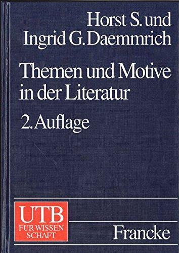 Themen und Motive in der Literatur: Ein Handbuch