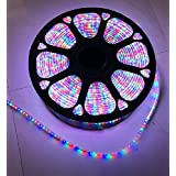 10 Meter Multi Color Rope Light For Ceiling Waterproof Light (with 1 Adapter)