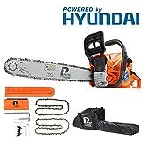 p1pe p6220C 62cc Hyundai Powered petrol Chainsaw, orange, 20