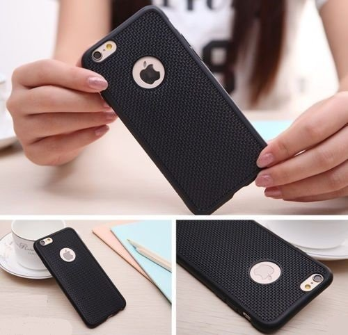 Shop Buzz Soft Silicone Grid Design Back Cover For iPhone 5 (BLACK) – For iPhone 5 / 5C / 5S – Black