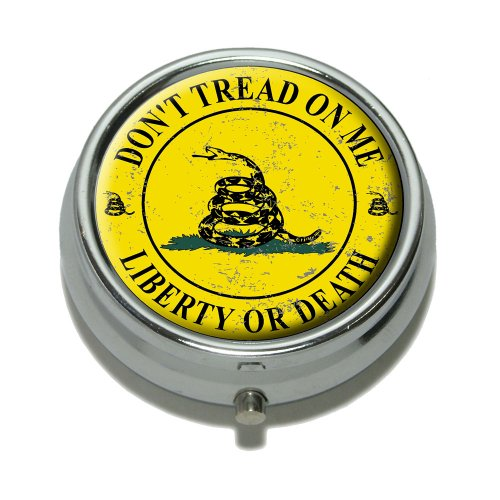 gadsden-dont-tread-on-me-liberty-or-death-distressed-circle-pill-case-trinket-gift-box