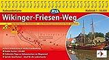 BVA Radwanderkarte Wikinger-Friesen-Weg 1:50.000, praktische Spiralbindung, reiß- und wetterfest, GPS-Tracks Download: Auf den Spuren der Nordmänner - eine Entdeckungsreise zwischen Nord- und Ostsee