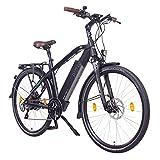 """NCM Venice Plus Bicicletta elettrica da Trekking, 250W, Batteria 48V 16Ah 768Wh, 28"""""""