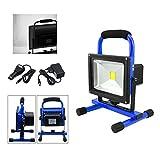 VINGO® 20W LED AKKU Strahler Balu IP65 3000K-3500K Baustrahler Handlamp