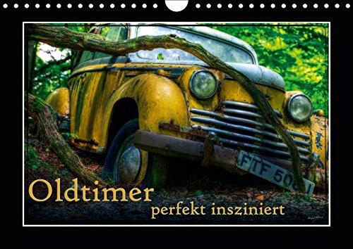 ziniert (Wandkalender 2019 DIN A4 quer): Bilder verschiedener, teils ausgedienter Oldtimer (Monatskalender, 14 Seiten ) (CALVENDO Mobilitaet) ()