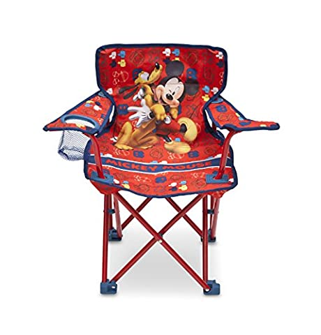 Delta Children Chaise de Camping Pliable Mickey Mouse