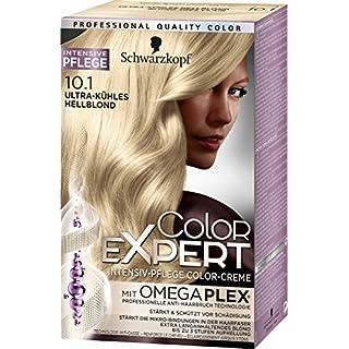 Schwarzkopf Color Expert Intensiv-Pflege Color-Creme 10.1 Ultra-kühles Hellblond, 3er Pack (3 x 167 ml)