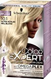 Schwarzkopf Color Expert Intensiv-Pflege Color-Creme 10.1 Ultra-kühles Hellblond, 3er Pack (3 x 167 ml)