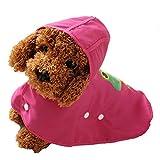 Bild: Haustier Kapuzenwasserdicht RegenJacke Sturm Hoodie Hund Regenmantel Wasserdicht Kostüm