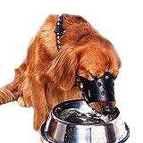 Dog mouth set einstellbar weichen Silikon Schnauze, atmungsaktiv Schutz Haustier kleine und mittlere...