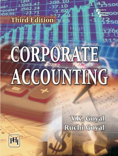 Corporate Accounting by Ruchi Goyal (2013-12-01)