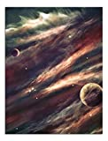 JP London PAPXS2308 Poster prêt à encadrer Motif Star Trek Solar 20,3 x 25,4 cm