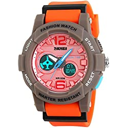 Fashion waterproof outdoor sport utility men and women's watches