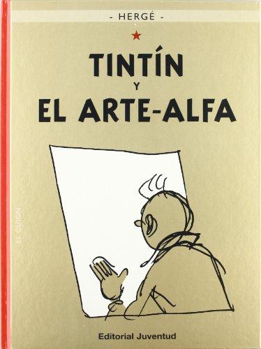 TINTÍN Y EL ARTE ALFA - cartone (LAS AVENTURAS DE TINTIN CARTONE)