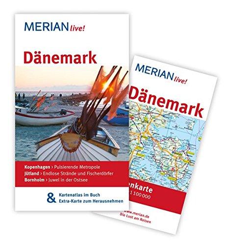 Preisvergleich Produktbild Dänemark: MERIAN live! - Mit Kartenatlas im Buch und Extra-Karte zum Herausnehmen