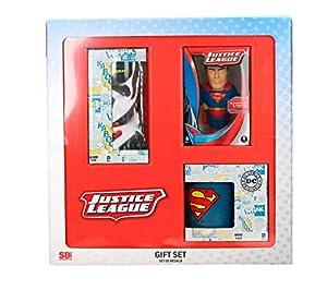 SD toys- Caja Regalo DC Superman (Antiestres-Taza-Vaso Refr, Multicolor (SDTWRN21161)
