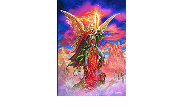 Flaming Dragon Pudding Carte Yule par Bruy/ère