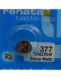 1 x Renata 377 SR626SW Argent Oxyde Batterie Montre Neuf Longue Durée