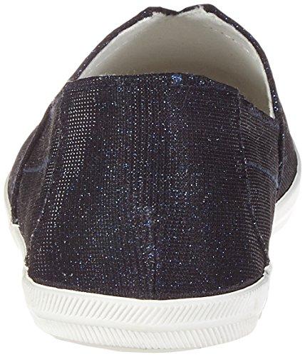 Tamaris Damen 24600 Slipper Blau (NIGHT BL. GLAM 809)