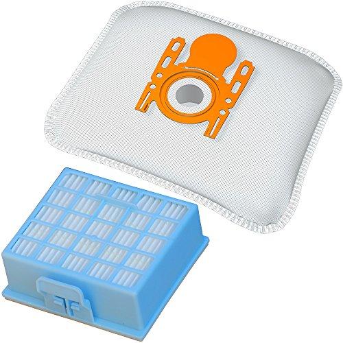 1 Hepa-Filter + 20 Staubbeutel geeignet für Siemens Baureihen VS06... VSZ3... VSZ4... und Bosch Serien BSG6..., BSGL3..., BSGL4..., Staubsaugerbeutel BS 216m inkl. Filter