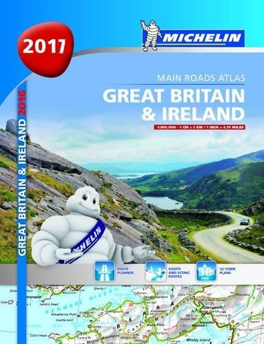 Great Britain & Ireland 2017 - A4 spiral di michelin
